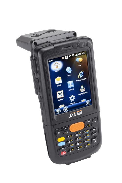 Janam XM2-RFID Reader for Railroad Industry