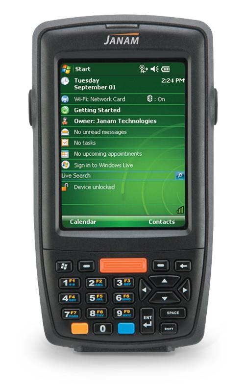 Janam XM66 Windows Mobile Computer